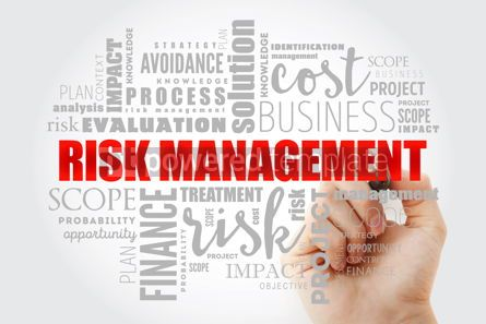 Business: Risk Management word cloud collage #13009