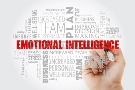 Business: Emotional intelligence word cloud collage #13010