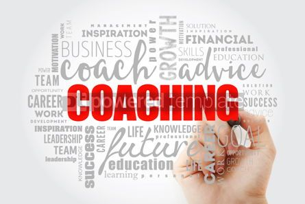 Business: COACHING word cloud collage #13011
