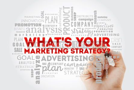 Business: What's Your Marketing Strategy word cloud #13013