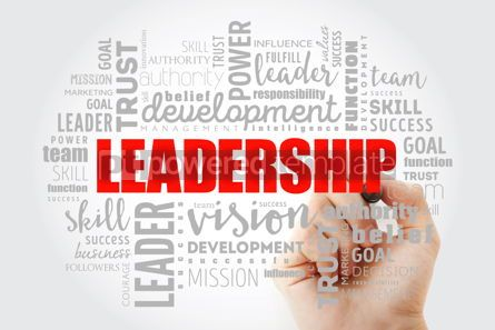 Business: LEADERSHIP word cloud collage #13014
