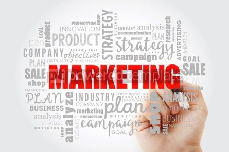 Business: Marketing word cloud collage #13017