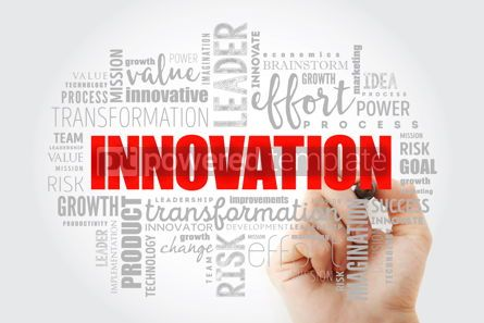 Business: INNOVATION word cloud collage #13018