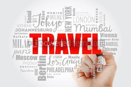 Business: TRAVEL word cloud concept #13030