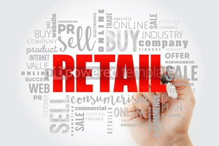 Business: Retail word cloud collage business concept #13038