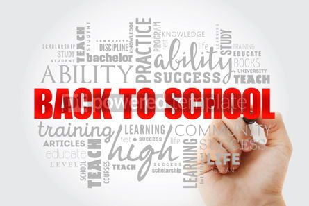 Business: Back to School word cloud collage #13043