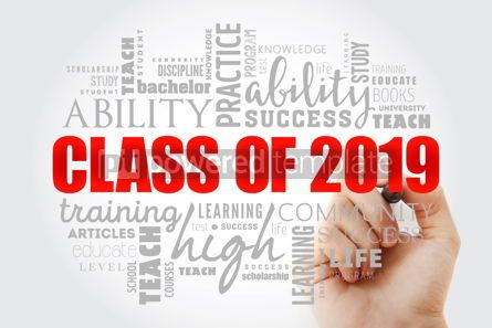 Business: CLASS OF 2019 word cloud collage #13045