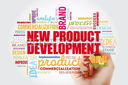 Business: New product development word cloud collage #13051