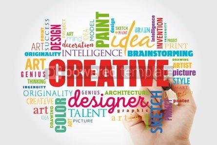 Business: CREATIVE word cloud creative concept #13060