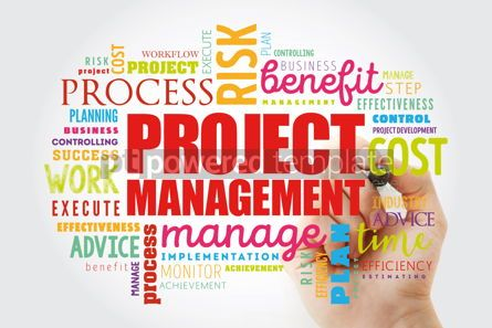 Business: Project Management word cloud collage #13062