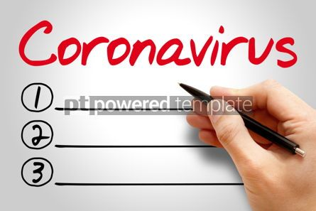 Education: Coronavirus Wuhan Novel 2019-nCoV text medical concept backgr #13068