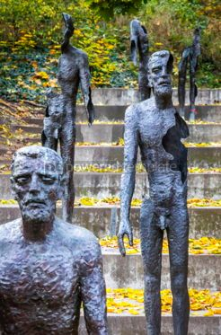 Architecture : Memorial to the victims of Communism in Prague Czechia #13071