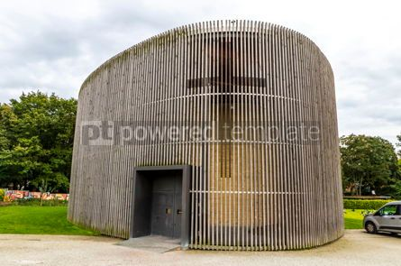 Architecture: Chapel of Reconciliation in Berlin Germany #13072