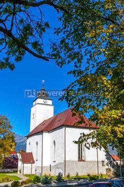 Architecture: Church of St Andrew in Velky Slavkov Slovakia #13073