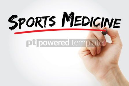 Business: Sports medicine text with marker #13088