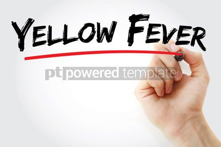 Business: Yellow Fever text with marker #13094