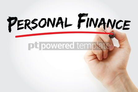 Business: Personal Finance text with marker #13103
