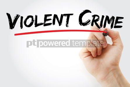Business: Violent Crime text with marker #13107
