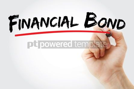 Business: Financial Bond text with marker #13115