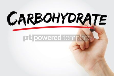 Business: Carbohydrate text with marker #13186