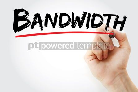 Business: Bandwidth text with marker #13188
