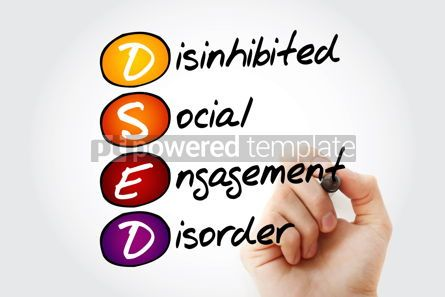 Business: DSED - acronym health concept background #13197
