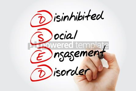 Business: DSED - acronym health concept background #13198