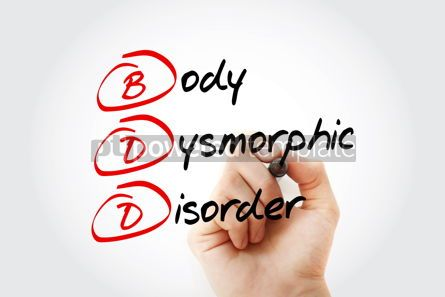 Business: BDD - Body Dysmorphic Disorder acronym #13202
