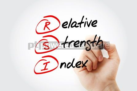 Business: RSI - Relative Strength Index acronym #13203
