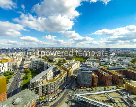 Architecture : Aerial view of Berlin center Germany #13219