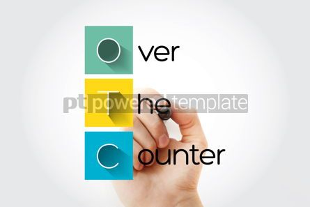Education: OTC - Over The Counter acronym with marker concept background #13265