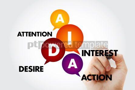 Business: AIDA - Attention Interest Desire Action acronym #13288