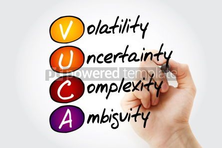 Business: VUCA acronym business concept background #13289