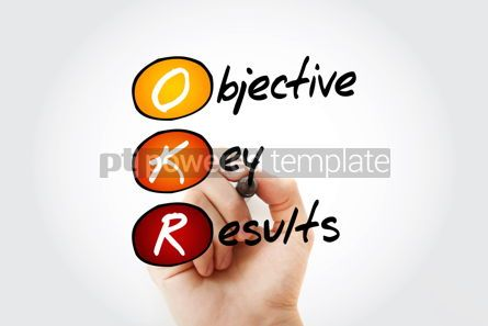 Business: OKR - Objective Key Results acronym #13290