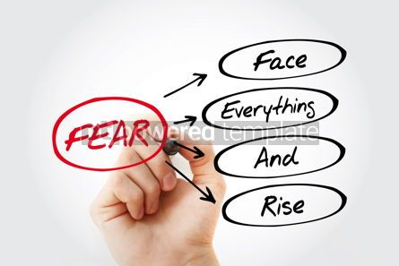 Business: FEAR - Face Everything And Rise acronym #13302