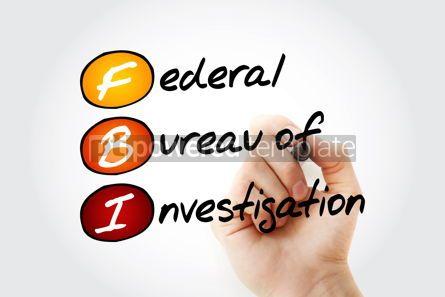 Business: FBI - Federal Bureau of Investigation acronym #13345