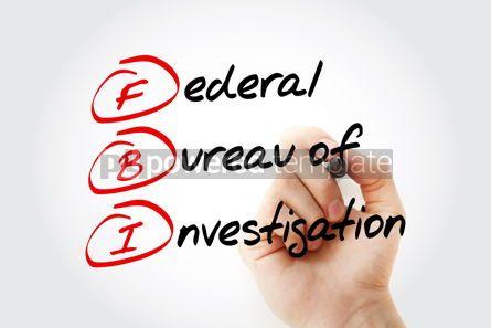 Business: FBI - Federal Bureau of Investigation acronym #13346