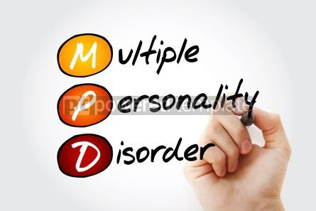 Business: MPD - Multiple Personality Disorder acronym #13347
