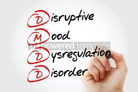 Business: DMDD - acronym health concept background #13351