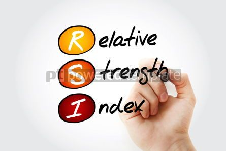 Business: RSI - Relative Strength Index acronym #13355