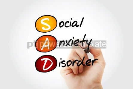 Business: SAD - Social Anxiety Disorder acronym #13358