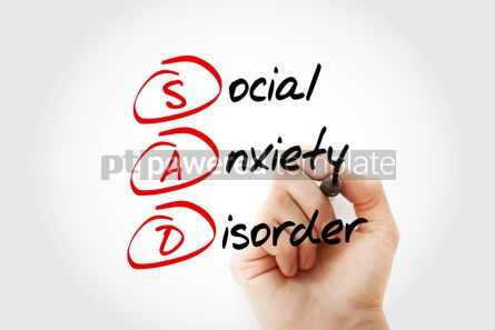 Business: SAD - Social Anxiety Disorder acronym #13359