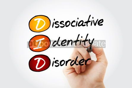 Business: DID - Dissociative Identity Disorder acronym #13361