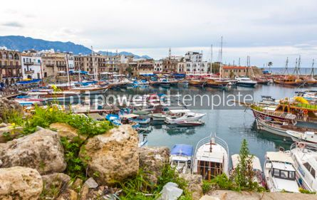 Architecture : Kyrenia Girne old harbour Northern Cyprus #13385