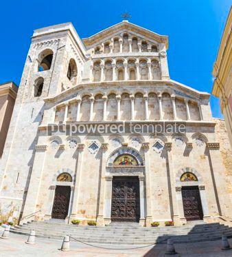 Architecture : Cagliari Cathedral Cattedrale di Cagliari Italy #13392