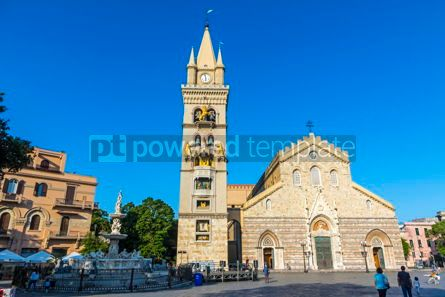Architecture : Messina Cathedral Duomo di Messina Sicily Italy #13393