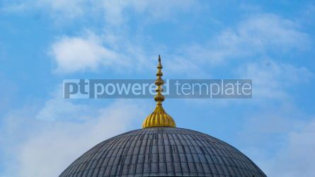 Architecture : Sultan Ahmed Mosque Dome in Istanbul Turkey #13398