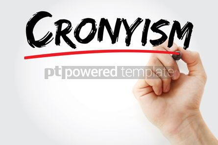 Business: Cronyism text with marker #13419