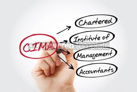 Business: CIMA - Chartered Institute of Management Accountants acronym bu #13432