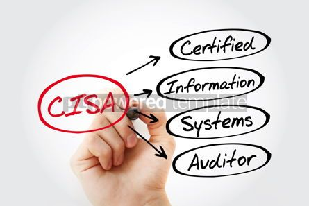Business: CISA – Certified Information Systems Auditor acronym with mark #13433